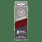 Blue Sports piros waxos fűző