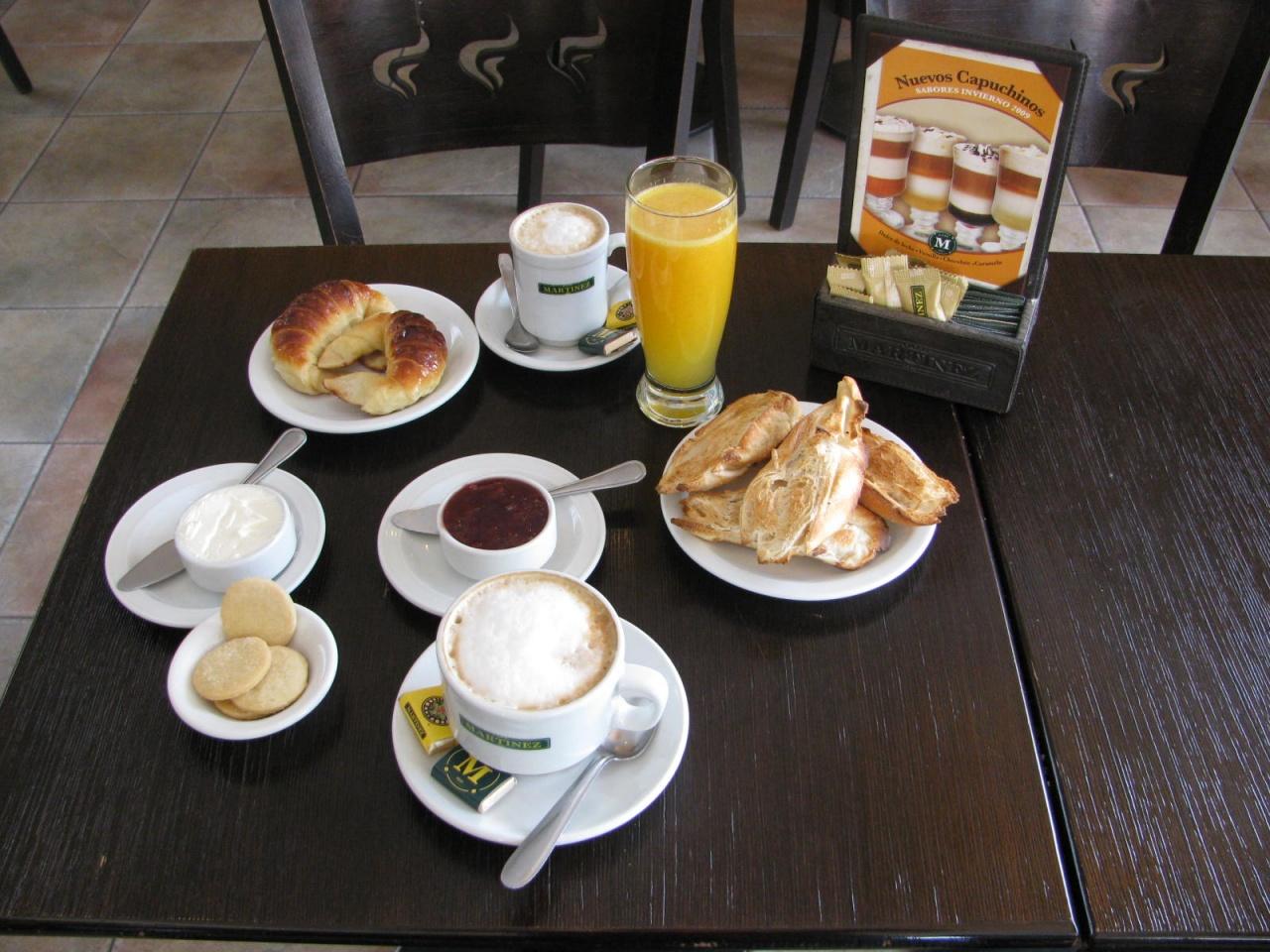 CAFE MARTINEZ  MAR DEL PLATA GOURMET