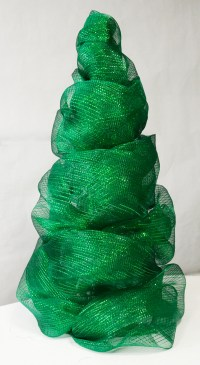 Party Ideas by Mardi Gras Outlet: Deco Mesh Christmas Tree ...