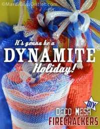 Party Ideas by Mardi Gras Outlet: Dynamite Deco Mesh ...