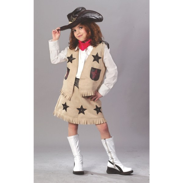 Cool Cowgirl Child Costume Size 5939
