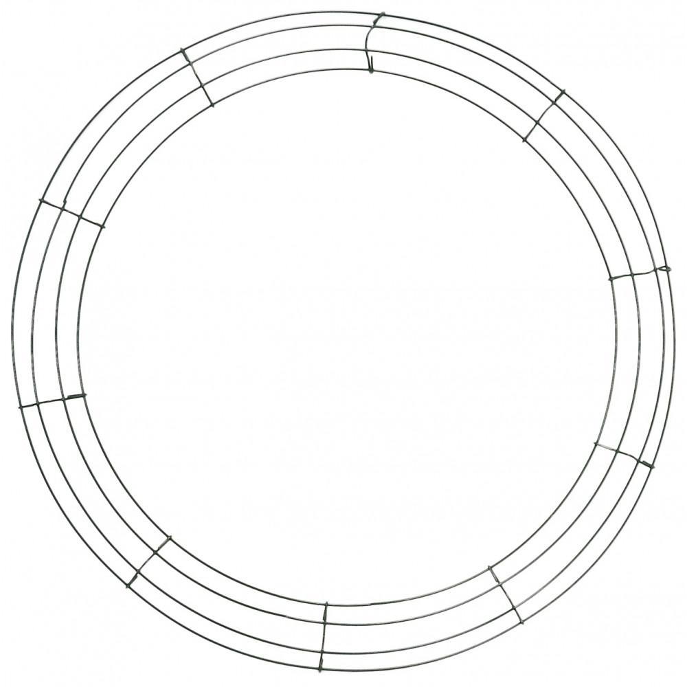 Box Wire Wreath Form: 20-inch Round [36007