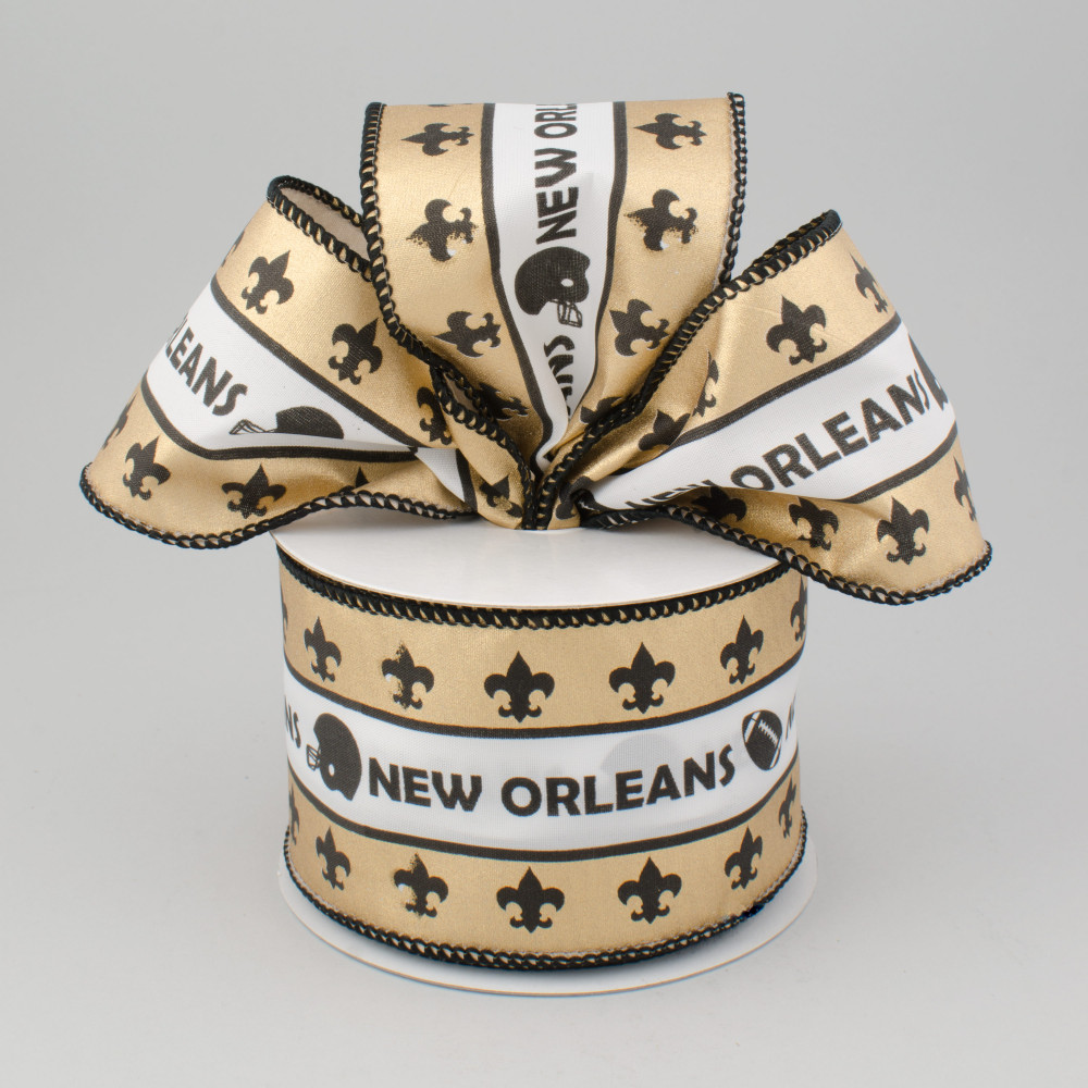 And New Black And Pictures Ribbon Saints Gold Orleans Pink