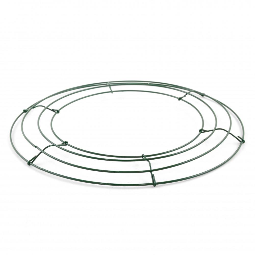Box Wire Wreath Form: 12-inch Round [36003