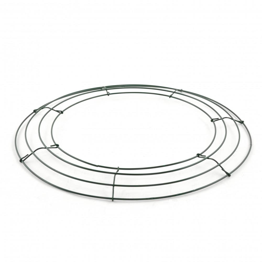 Box Wire Wreath Form: 16-inch Round [36005