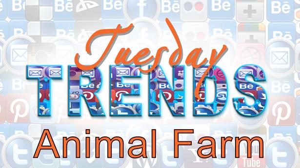 TUESDAY TRENDS – ANIMAL FARM
