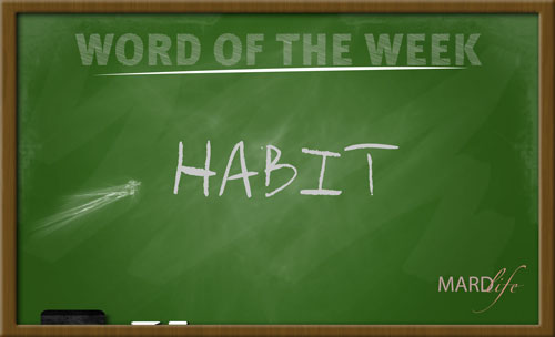 WORD FOR THE WEEK – HABIT
