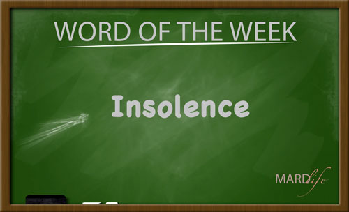Insolence – Word For The Week