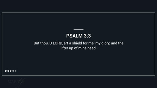 Verse Of The Day: Psalm 3:1-3