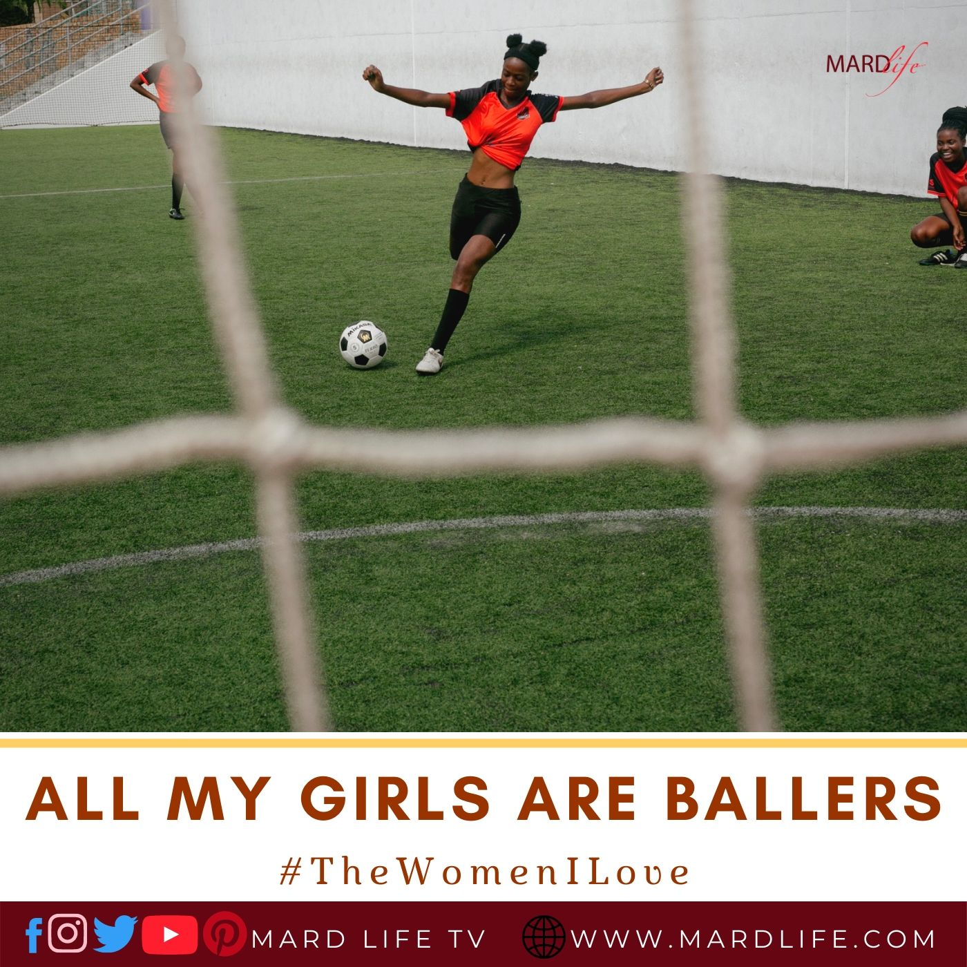 Ballers, Girls, Football, Sport, Secondary School, Fiction, Classmates, Teenagers, Competition,