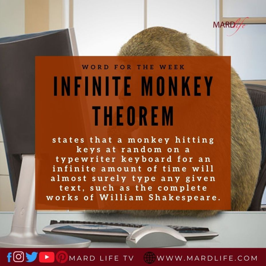 Infinite Monkey Theorem (Word For The Week)