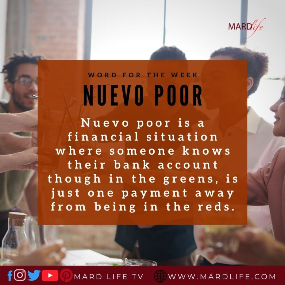 Nuevo Poor (Word For The Week)