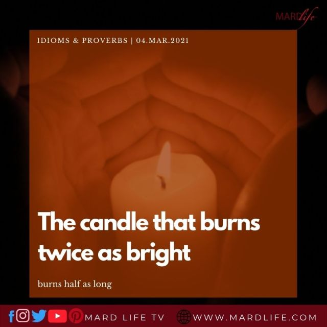 Candle Tales (IDIOMS AND PROVERBS)