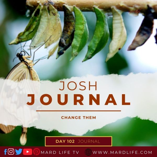 Change Them - Josh Journal