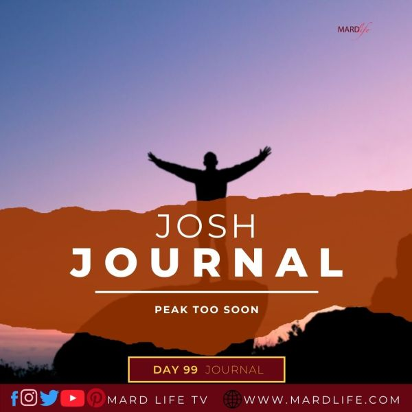 Peak Too Soon - Josh Journal