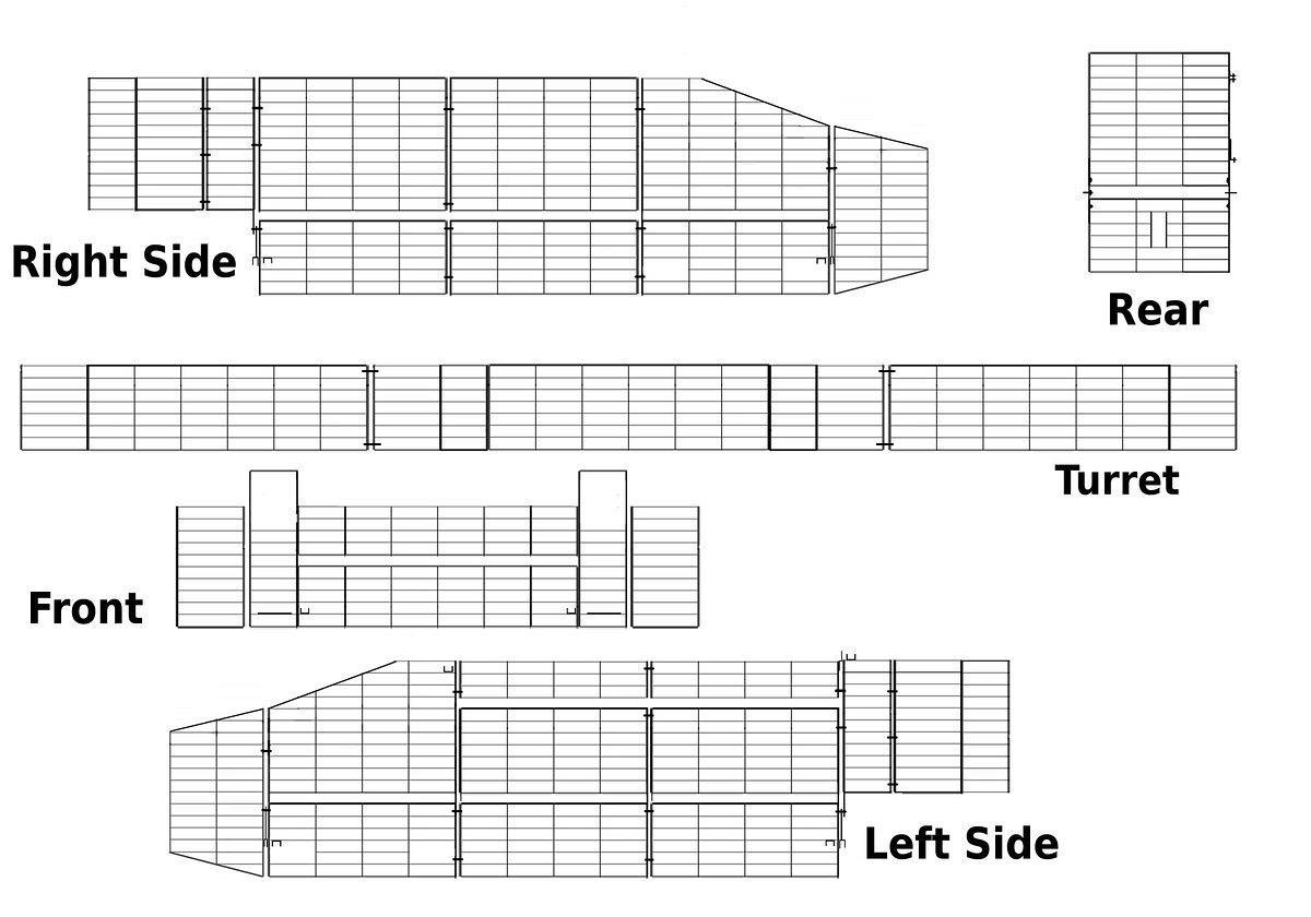 Armorama :: 1:35 CRV(T) Scimitar 2 scratch(-ish) build