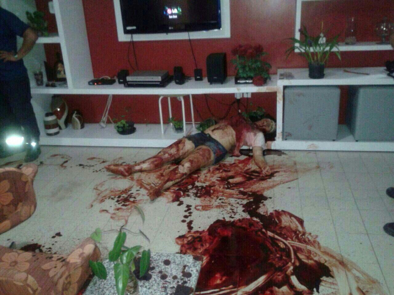 Irmo mata irms a facadas e depois se suicida no bairro