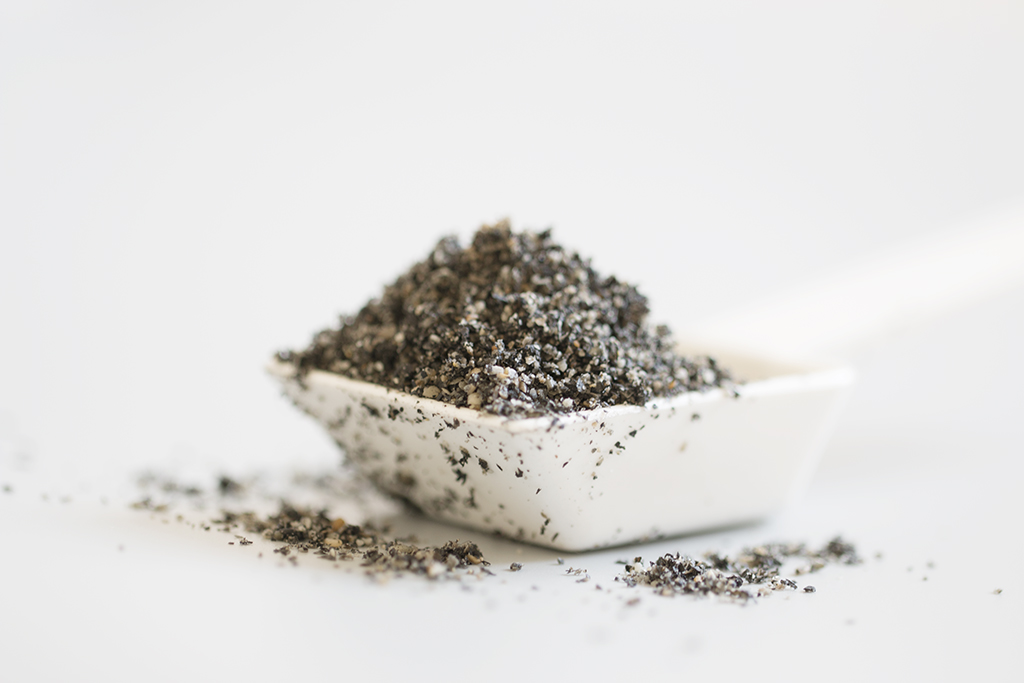 kitchen stores online top mount sink black sesame powder recipe - how to make?