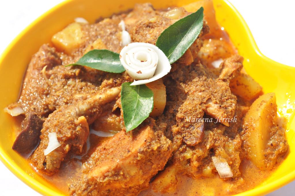 Goan chicken xacuti recipe mareenas recipe collections goan chicken xacuti october 28 2012 mareena jerrish print share forumfinder Images