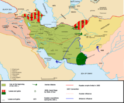 Persia in 19th and 20th centuries.