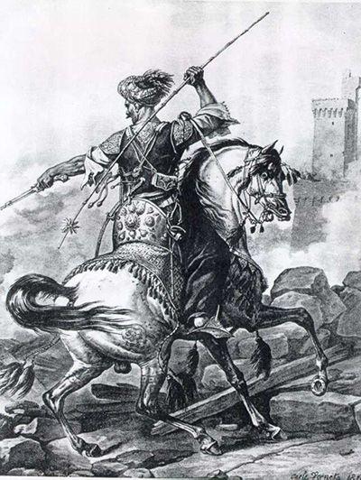 جندي مملوكي سنة 1810