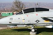 كليمان و  ڤينليت إف-14 توم كات من الحادث وهي معروضة حاليا في مكتبة رونالد ريغان الرئاسية في سيمي فالي ، كاليفورنيا.