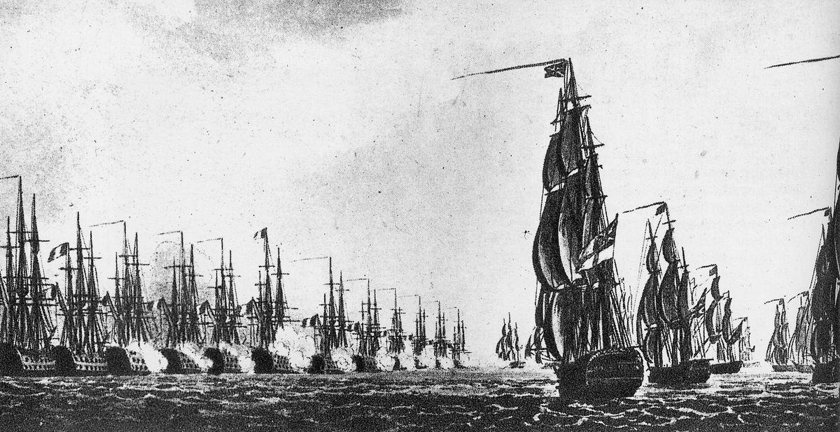 حصار الأسطول الفرنسي