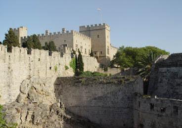 قلعة الفرسان في رودس.