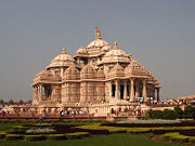 Akshardham Temple in New Delhi.