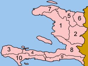 أقسام هايتي