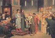 انتخاب ميخائيل رومانوڤ ابن الستة عشر ربيعاً، ليكون أول قيصر من أسرة رومانوڤ
