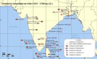 Les comptoirs européens en Inde (قالب:XVIe s - القرن 17)