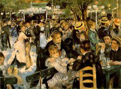 الحفل الراقص أمام طاحونة لا گاليت ، 1876