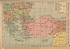 )توزع الأعراق في البلقان
