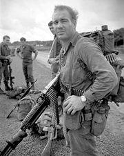 An Australian soldier in Vietnam