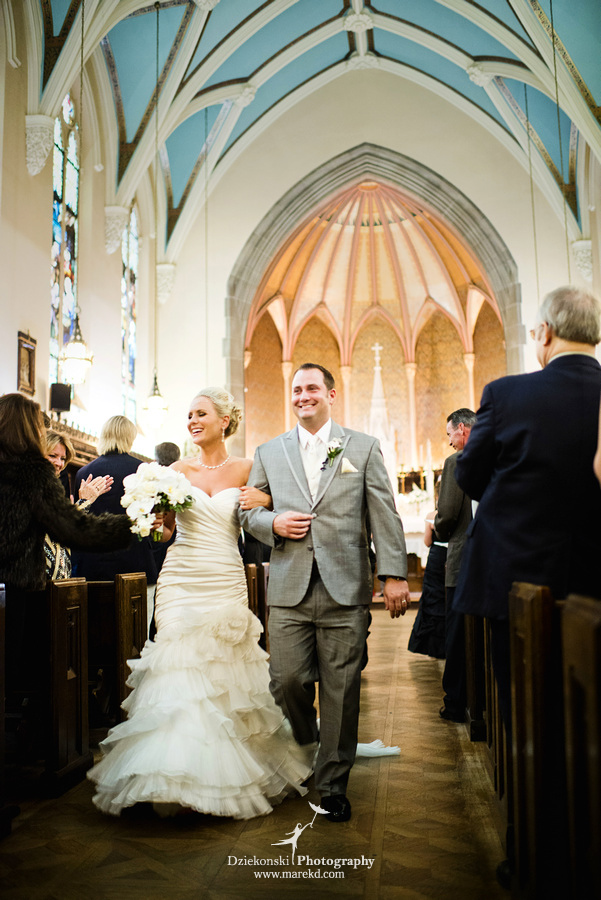 Valarie and PJs Wedding at Grosse Pointe Academy Chapel and Detroit Yacht Club  Dziekonski