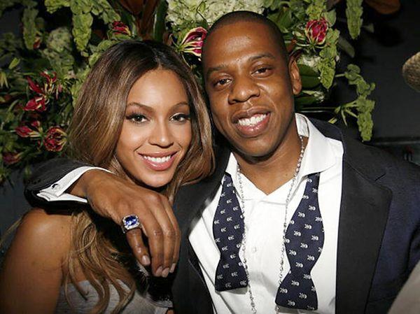 Beyonce con marito ok