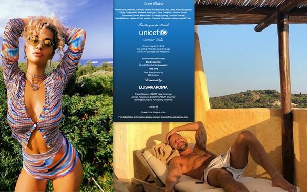 collage Rita Ora e Ricky Martin con invito1