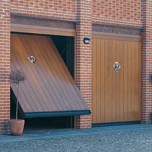 Porta basculante TIMBER 03 marenco serrande