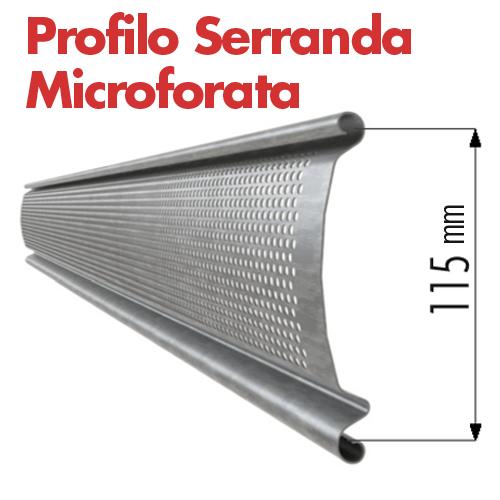 Serranda microforata profilo marenco serrande