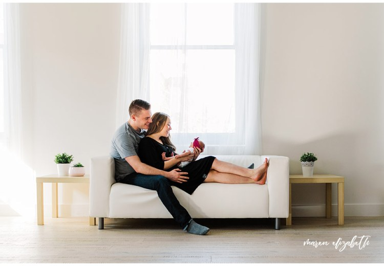 This newborn pictures session was shot at the White Space Studio in Provo, UT. I love the airyness of this studio space and would definitely go back.   Gilbert, AZ Photographer   Maren Elizabeth Photography