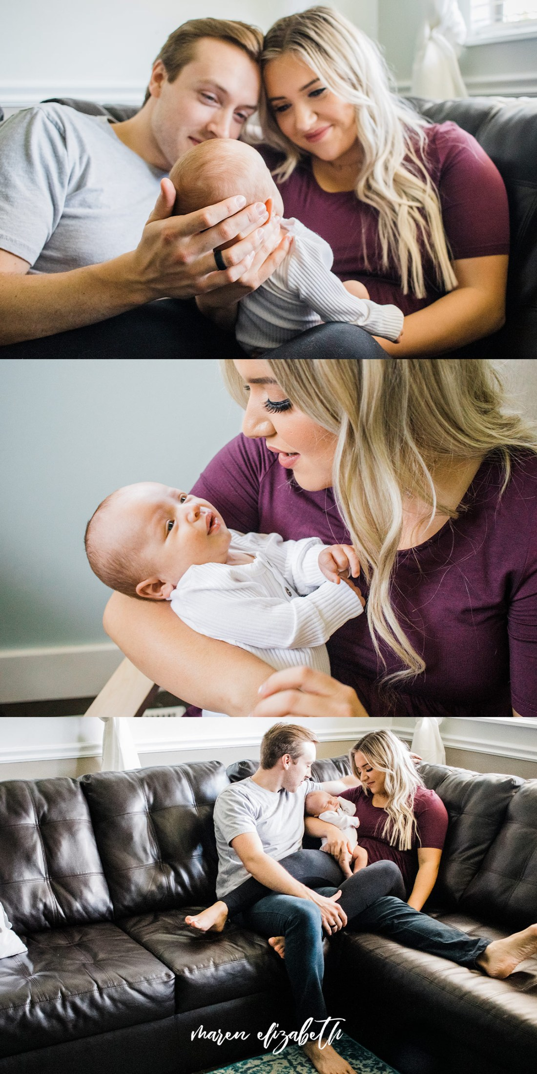 Peoria Arizona Newborn Pictures | Hair and Makeup by @AllieLareeBeauty | Maren Elizabeth Photography | Peoria Arizona Newborn Photographer