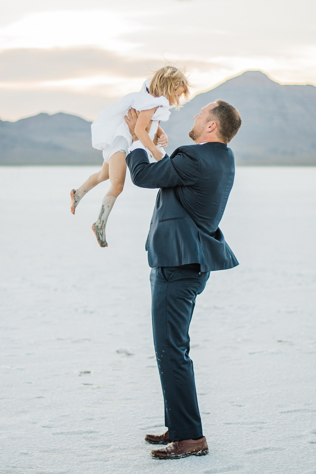 Bonneville Salt Flats Family Pictures