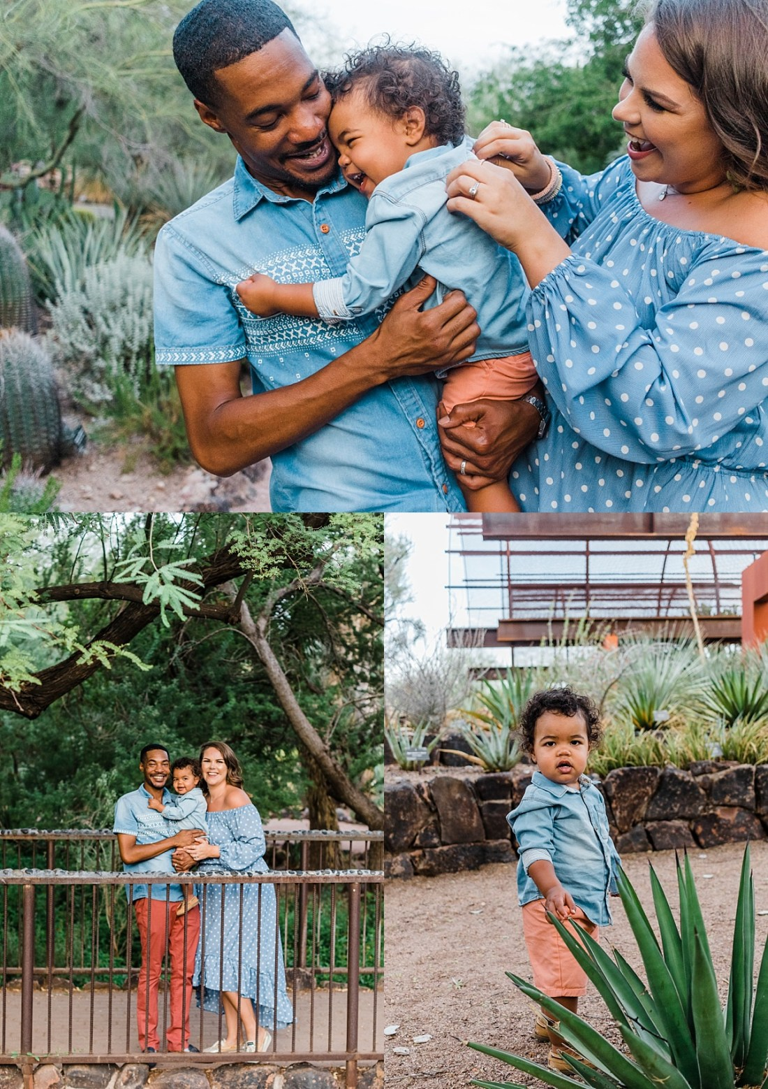 Desert Botanical Garden Family Pictures | Phoenix Family Photographer