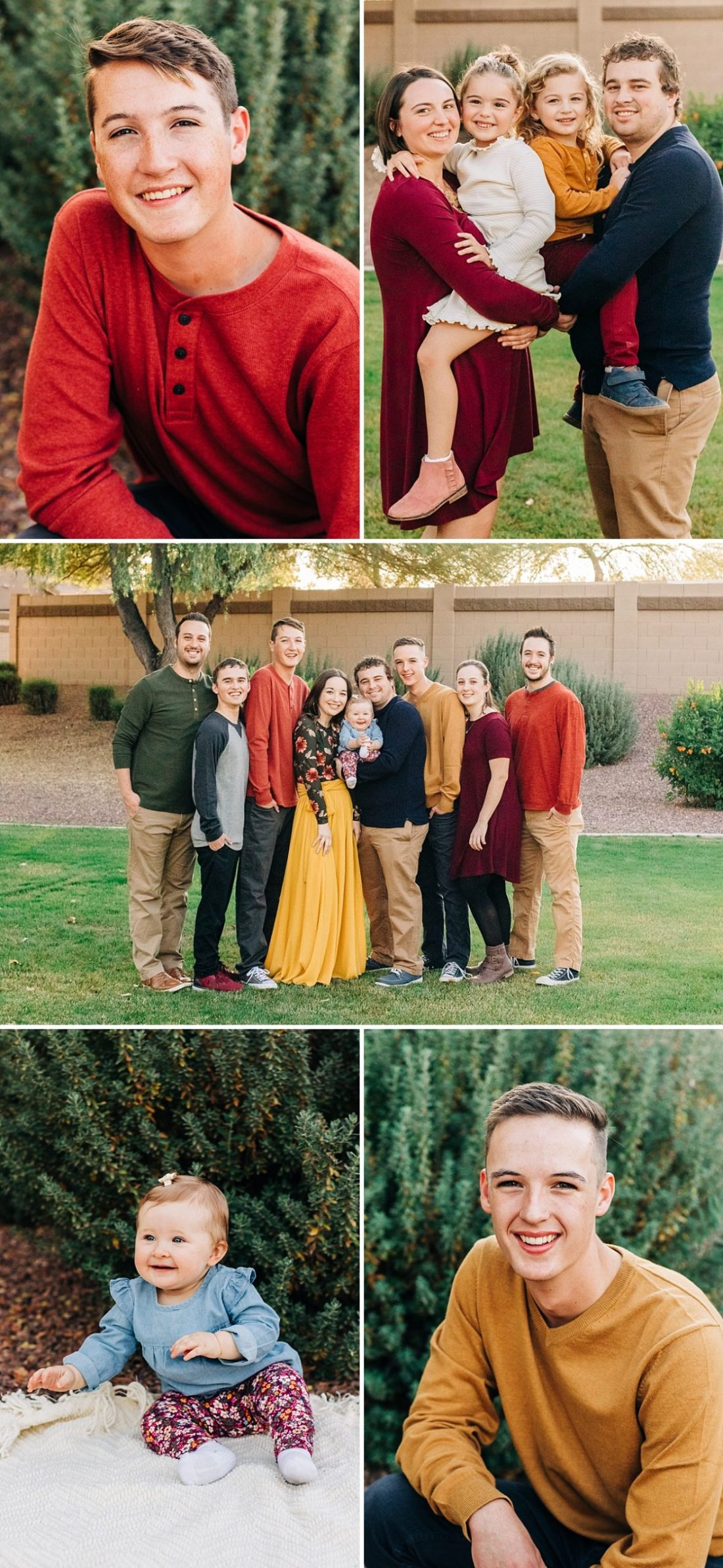 Arizona Extended Family Photographer