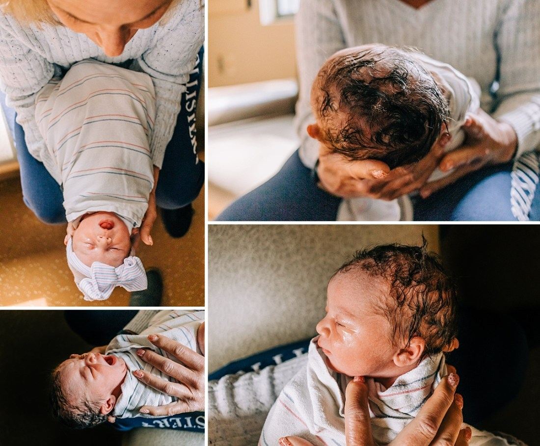 What to Expect when Delivering at Banner Gateway | Baby H Birth Story | East Valley Birth Photographer