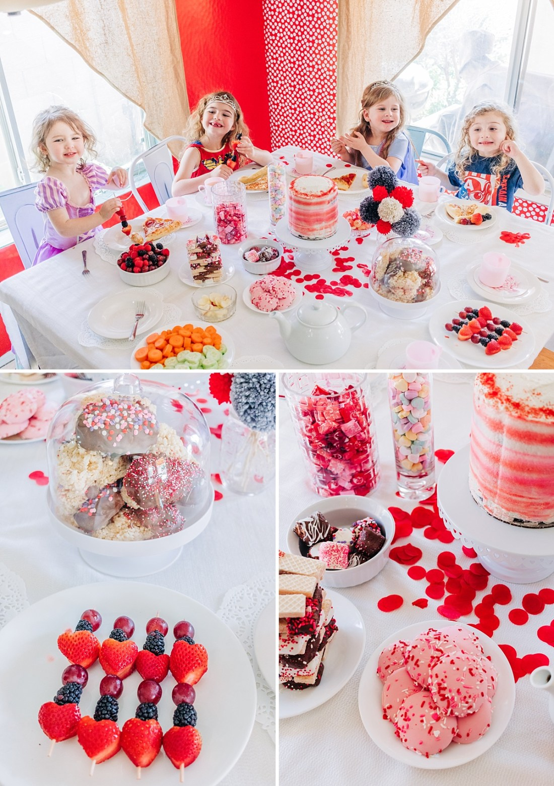 DIY Valentine's Day Tea Party