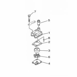 Yamaha 6EE-W0078-00 Water Pump Repair Kit / Κιτ Αντλίας