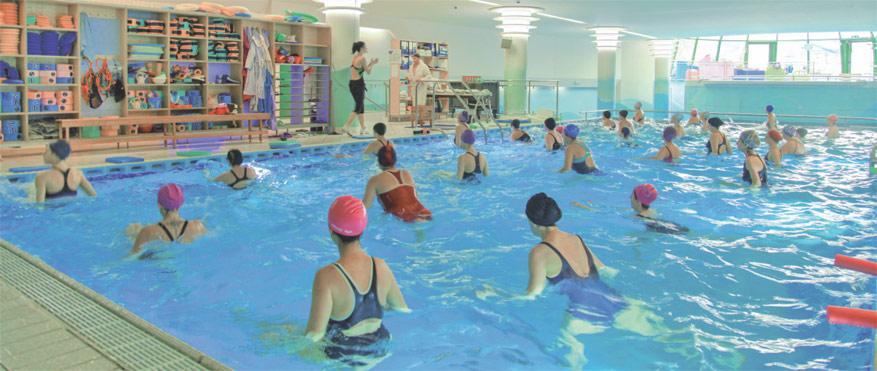 Corsi in piscina termale  Terme Felsinee Bologna Casalecchio  Mare Termale Bolognese