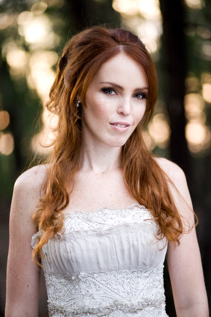 redhead bride wedding
